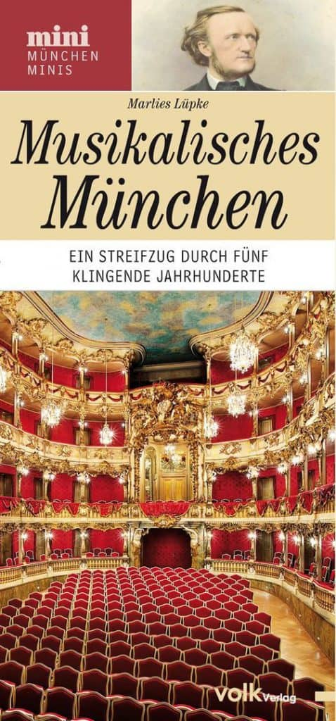 Titelbild des Stadtführers Musikalisches München von Marlies Lüpke