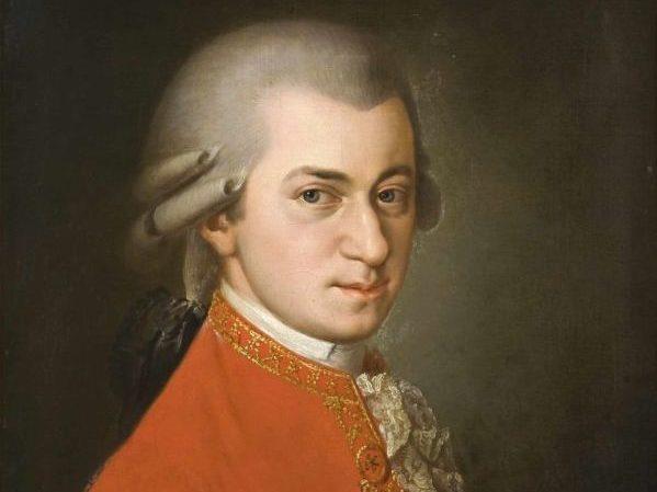 Gemälde von Wolfgang Amadeus Mozart