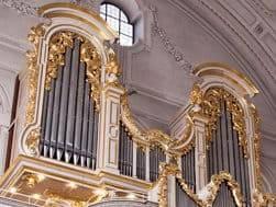 Orgel in der Kirche St. Michael München