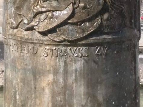 Richard-Strauss-Brunnen in der Neuhauserstraße München