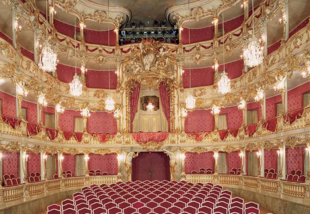 Cuvilliéstheater in der Residenz München