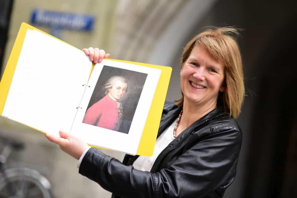 Marlies Lüpke, Musikhistorikerin und Gästeführerin in München