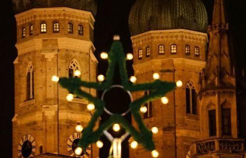 Weihnachtsmarkt auf dem Marienplatz München